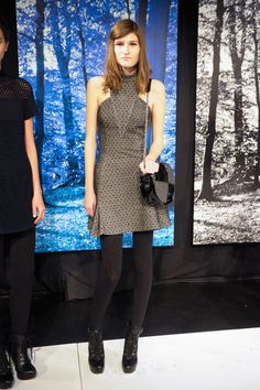 Charlotte Ronson Fall '13 #nyfw the cutest dress!