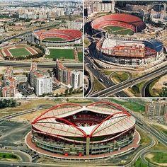 Estadio da luz o maior de Portugal... #slbenfica#estadiodaluz#benfica#aguiasdefranca#epluribusunum#1904#catedral