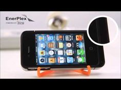 EnerPlex Solar Charger for iPhone ... Solar Panel Case Doubles Talk Time