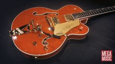 Chet Atkins Signature Gretsch with Bigsby #gretsch #gretschguitar #chetatkins #bigsby #MegaMusic #MegaMusicMyaree