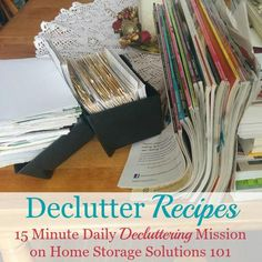 How to #declutter re