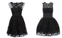 vestido juvenil blanco y negro - Buscar con Google