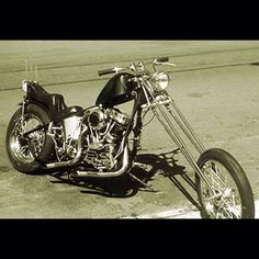 Chopper With A Springer Front End