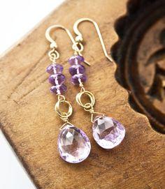Amethyst Jewelry, February Birthstone, Gemstone Jewelry on Etsy, $90.00