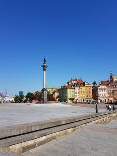 Warsaw City, Cn Tower, Street View, Building, Travel, Voyage, Buildings, Viajes, Traveling