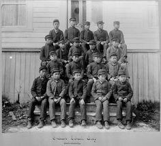 Residential schools were government-sponsored religious schools established to assimilate Aboriginal children into Euro-Canadian culture. Aboriginal Children, Aboriginal Education, Indigenous Education, Residential Schools Canada, Indian Residential Schools, Native Canadian, Canadian Culture, Canadian History, First Nations