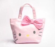 Hello Kitty Lunch Bag: Polka Dot - I will SO carry my lunch in this!