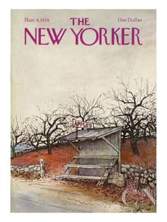 The New Yorker Cover - November 6, 1978 Poster Print by Arthur Getz at the Condé Nast Collection