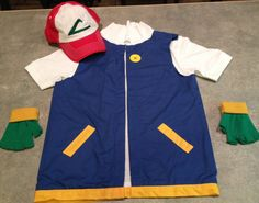 Boyu0027s POKEMON Trainer - ASH Ketchum Costume - Cosplay & Pokemon - Ash - costume - original u2026 | Kid Stuff | Pinteu2026