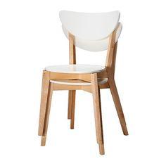 39 euro NORDMYRA Stoel IKEA De stoelen zijn stapelbaar, zodat ze minder plaats innemen als ze niet worden gebruikt.