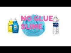 Dish Soap No Glue Slime DIY (Making No Glue Slime) No Glue Dish Soap Slime DIY - YouTube