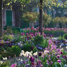 GIVERNY, Claude Monet's garden in Normandy.
