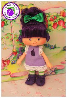 Strawberry Shortcake Character Custom Raisin Cane doll created by PlumsPlace.com
