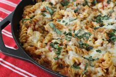See Aimee Cook: Chicken Parmesan Baked Pasta. Crossing my fingers to actually buying an oven. Chicken Parmesan Baked Pasta Recipe, Baked Pasta Recipes, Breaded Chicken, Fun Foods To Make, Easy Weeknight Meals, Tasty Meals, Pasta Bake, Yum Yum Chicken, Italian Recipes