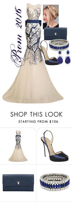 """""""Prom 2016"""" by tsunpoviortiz ❤ liked on Polyvore featuring Valextra, Kenneth Jay Lane and Bounkit"""