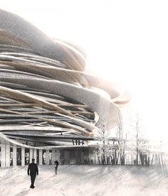 OCRA envisions spherical national pantheon for kazakhstan
