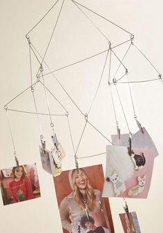 Hangs for the Memories Photo Display by Kikkerland from ModCloth