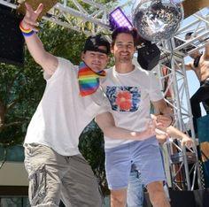 Channing Tatum et les boys de Magic Mike à la gaypride de Los Angeles