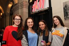 H&M public opening - THE F -  campers 2