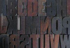 want letterpress letters - have the J! Need a B, 6, (2) 9's...