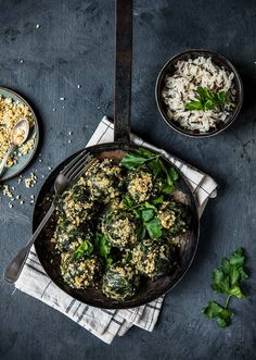 Vegan Spinach Dumpling | About That Food | Vegan Food