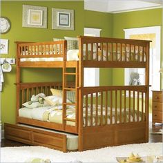 Great idea to maximize sleeping space for guests!