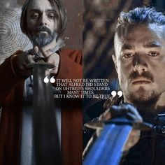 Alfred and Uhtred The Last Kingdom season 3 The Last Kingdom Series, Kingdom Movie, Winchester, Uhtred Of Bebbanburg, Great Dane Funny, Eddard Stark, Alfred The Great, Vikings Ragnar, Dane Puppies