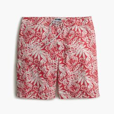 """J.Crew Father's Day Shop: men's 9"""" board short in faint floral."""