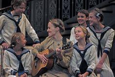 Jennifer Blood as Maria with the von Trapp children