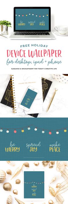 Organized for the Year 12 month Calendar Bundle from Elegance and Enchantment | Free download wallpapers on TodaysCreativeLife.com