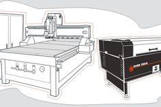 Laser Router CNC machines