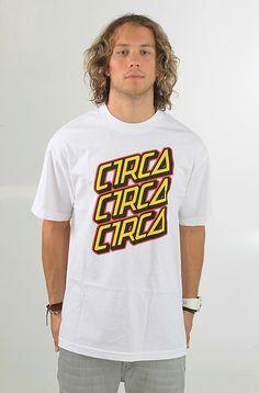 C1rca Typo Santa Cruz t-paita White 29,90 € www.dropinmarket.com