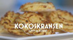 Bak de heerlijke kokoskransen van Janny en Robert!