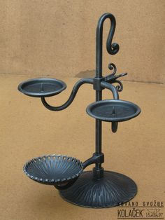 Candle Spells, Candle Magic, Welding Art, Welding Projects, Candelabra, Candlesticks, Wrought Iron Candle Holders, Blacksmith Forge, Hearth And Home