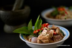 Beef Curry Seasoned with Fermented Shrimp Paste Chili Sauce  gaaeng_ranjuaan