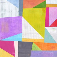 #abstract #geometric #color