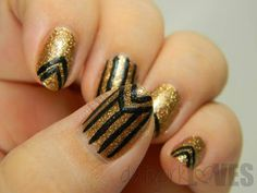datyorkLOVES: The Great Gatsby Retro Nails