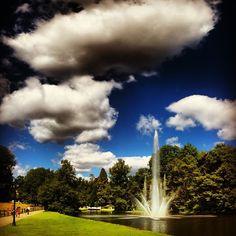 Sonsbeekpark, Arnhem #summer #clouds #mountain #scenic  #hot #amazing #park #green