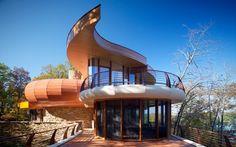 Chenequa Residence / Robert Harvey Oshatz Architect in Wisconsin, USA
