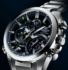 Casio Edifice EQB-500D-1A with Bluetooth (right angle)