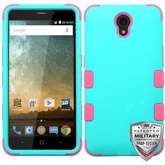 We just added a new product that you're gonna love: MYBAT TUFF Hybrid... http://www.myphonecase.com/products/mybat-tuff-hybrid-zte-sonata-3-case-teal-pink?utm_campaign=social_autopilot&utm_source=pin&utm_medium=pin