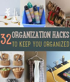 32 Organization Hacks to Keep You Organized