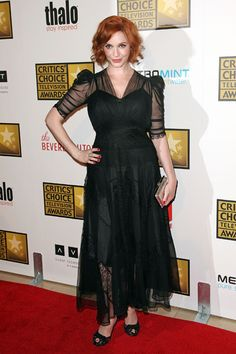 Christina Hendricks, Sarah Hyland: Critics Choice Awards style
