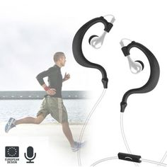 Practice sports while you listen to music or talk on the phone wearing these running earphones!  http://www.justgoodle.com/en/speakers-headphones/6144-gofit-running-earphones.html
