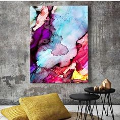 Seriously swooning over 'Exhale V' by @scissorspaperbrush available now at The Block Shop. Search 'Exhale' at http://ift.tt/1v9jaEU to see all the beauties in Celeste's collection. #art #wallart #colour http://ift.tt/2kpB4DG
