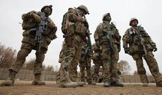 German Army soldiers in Afghanistan, 2014