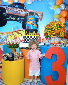 Hot Wheels Birthday, Hot Wheels Party, Birthday Party Themes, Birthday Cake, Isaiah 9, Fancy, Parties, Industrial Kids Decor