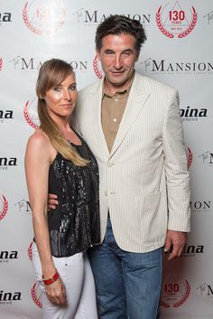 William Baldwin and Chynna Phillips at the 130th Anniversary Party of Alpina on Grand Cayman on 17.10.2013