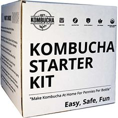 "I shared this kit last week but wanted to share it one more time because Dave has it on sale through Amazon right now. It is $20 less than on his website. I purchased our   Organic Kombucha Starter Kit, Stop Buying Store Bought Kombucha Tea And Start Making As Much As You Want! 6.5"" Organic Scoby, Largest Culture In North America For 9 Straight Years, 5 Gallon Tea Supply Makes 80 Bottles of Kombucha, 180 Day Guarantee !, http://www.amazon.com/dp/B00AWJ1Q3Y/ref=cm_sw_r_pi_awdm_l8R7wb6PMXBHX"