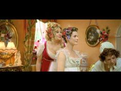 Miss Elizabeth Charming (Jennifer Coolidge) buys Jane Hayes (Keri Russell) her dress in this deleted scene from Austenland Austenland Movie, Jennifer Coolidge, Miss Elizabeth, Keri Russell, Regency Dress, Pride And Prejudice, Gilmore Girls, Classic Movies, Jane Austen